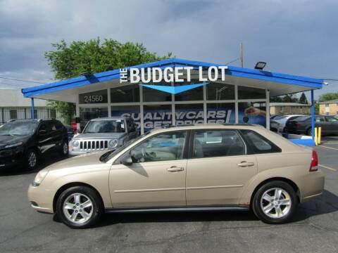 2005 Chevrolet Malibu Maxx for sale at THE BUDGET LOT in Detroit MI