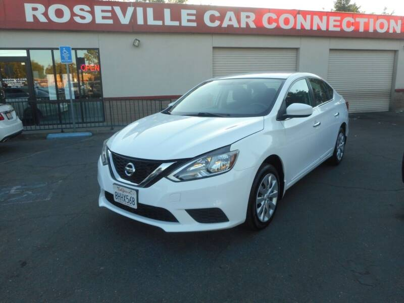 2017 Nissan Sentra for sale at ROSEVILLE CAR CONNECTION in Roseville CA