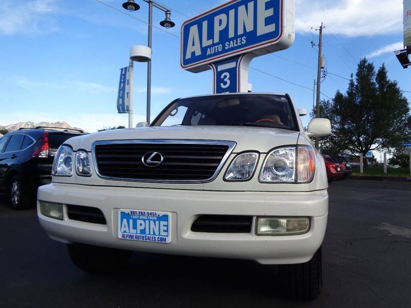 2000 Lexus LX 470 for sale at Alpine Auto Sales in Salt Lake City UT