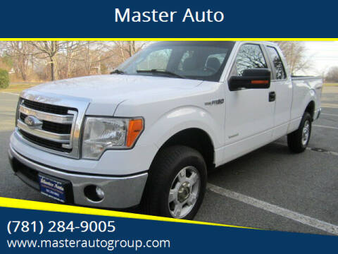 2014 Ford F-150 for sale at Master Auto in Revere MA