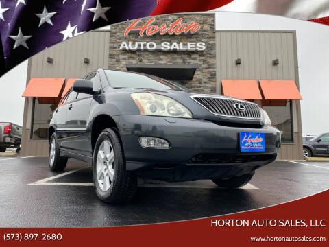 2004 Lexus RX 330 for sale at HORTON AUTO SALES, LLC in Linn MO