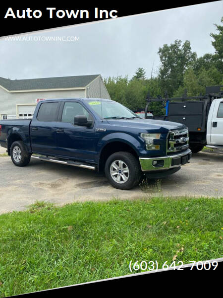 2015 Ford F-150 for sale at Auto Town Inc in Brentwood NH