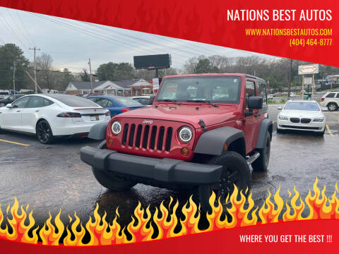 2009 Jeep Wrangler for sale at Nations Best Autos in Decatur GA