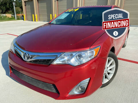 2014 Toyota Camry for sale at HI SOLUTIONS AUTO in Houston TX