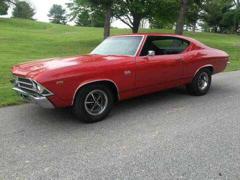 1969 Chevrolet Chevelle for sale at Limitless Garage Inc. in Rockville MD