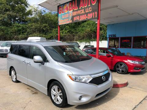 2015 Nissan Quest for sale at Global Auto Sales and Service in Nashville TN