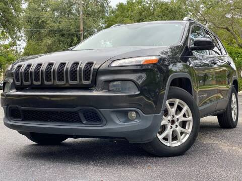 2015 Jeep Cherokee for sale at HIGH PERFORMANCE MOTORS in Hollywood FL
