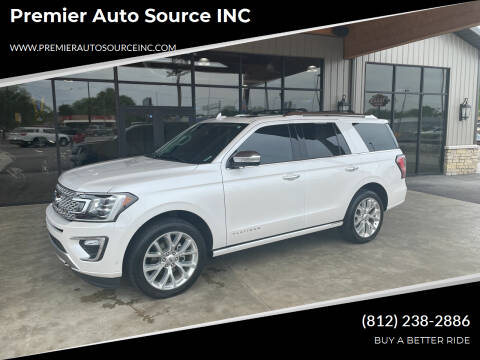 2019 Ford Expedition for sale at Premier Auto Source INC in Terre Haute IN