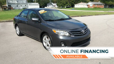 2013 Toyota Corolla for sale at Magana Auto Sales Inc in Aurora IL