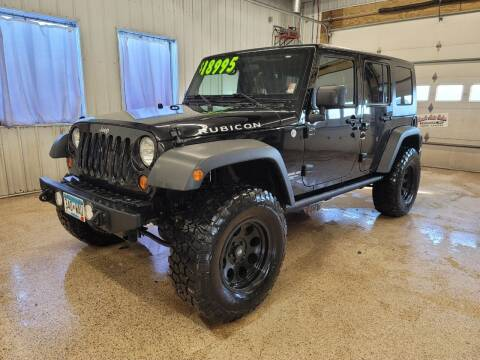 2010 Jeep Wrangler Unlimited for sale at Sand's Auto Sales in Cambridge MN