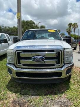 2012 Ford F-250 Super Duty for sale at DAN'S DEALS ON WHEELS in Davie FL