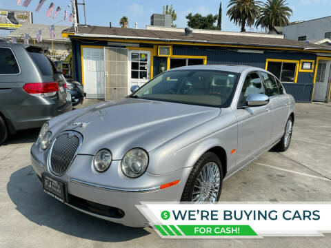 2005 Jaguar S-Type for sale at FJ Auto Sales North Hollywood in North Hollywood CA