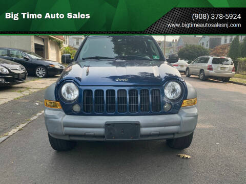 2005 Jeep Liberty for sale at Big Time Auto Sales in Vauxhall NJ