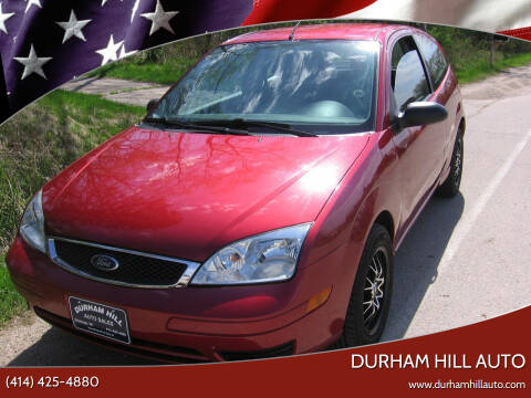 2005 Ford Focus for sale at Durham Hill Auto in Muskego WI