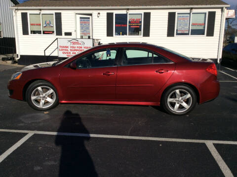 2010 Pontiac G6 for sale at BISHOP MOTORS inc. in Mount Carmel IL