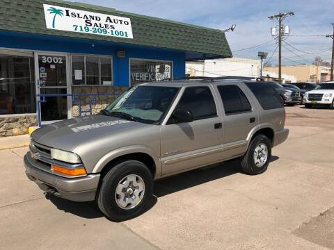 2004 Chevrolet Blazer for sale at Island Auto Sales in Colorado Springs CO