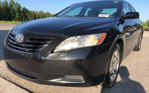 2007 Toyota Camry for sale at County Line Car Sales Inc. in Delco NC