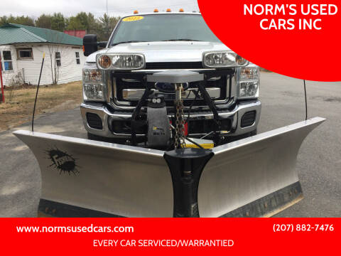 2015 Ford F-350 Super Duty for sale at NORM'S USED CARS INC in Wiscasset ME