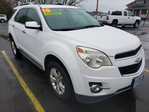 2010 Chevrolet Equinox for sale at Low Price Auto and Truck Sales, LLC in Salem OR