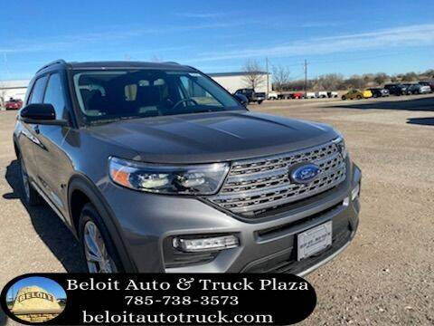 2021 Ford Explorer for sale at BELOIT AUTO & TRUCK PLAZA INC in Beloit KS
