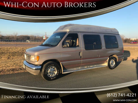 1995 Ford E-Series Cargo for sale at Whi-Con Auto Brokers in Shakopee MN