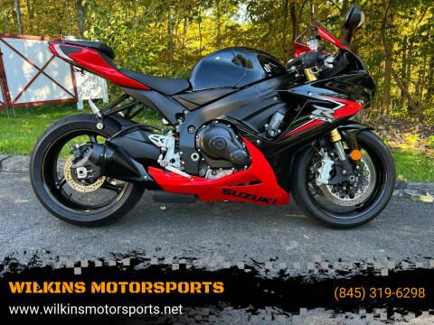2014 Suzuki GSXR750 for sale at WILKINS MOTORSPORTS in Brewster NY