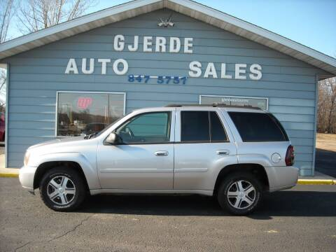 2006 Chevrolet TrailBlazer for sale at GJERDE AUTO SALES in Detroit Lakes MN