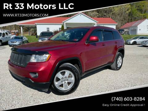 2012 Jeep Grand Cherokee for sale at Rt 33 Motors LLC in Rockbridge OH