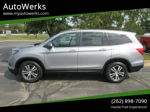 2017 Honda Pilot for sale at AutoWerks in Sturtevant WI