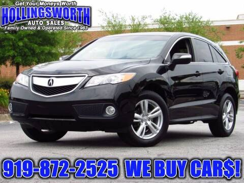 2014 Acura RDX for sale at Hollingsworth Auto Sales in Raleigh NC