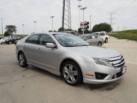 2010 Ford Fusion for sale at SIMOTES MOTORS in Minooka IL