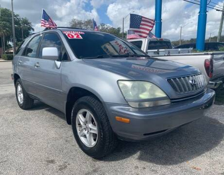 2002 Lexus RX 300 for sale at AUTO PROVIDER in Fort Lauderdale FL