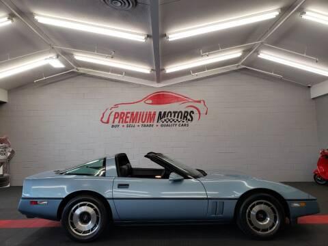 1985 Chevrolet Corvette for sale at Premium Motors in Villa Park IL