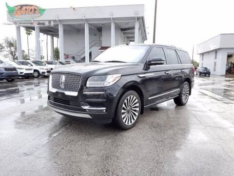 2019 Lincoln Navigator for sale at GATOR'S IMPORT SUPERSTORE in Melbourne FL