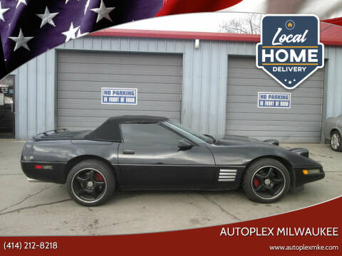 1991 Chevrolet Corvette for sale at Autoplex 2 in Milwaukee WI