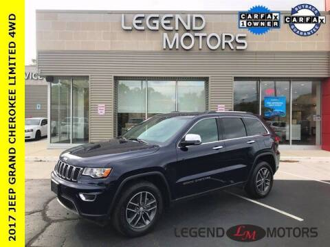2017 Jeep Grand Cherokee for sale at Legend Motors of Waterford in Waterford MI