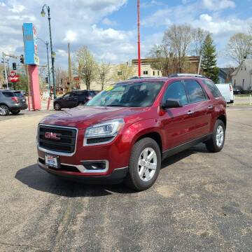2016 GMC Acadia for sale at Bibian Brothers Auto Sales & Service in Joliet IL