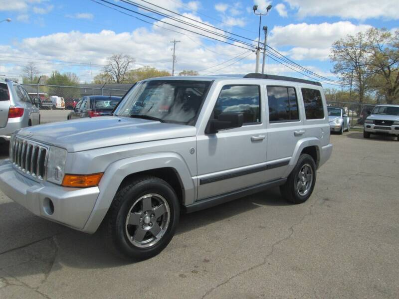 2007 Jeep Commander for sale at Jims Auto Sales in Muskegon MI