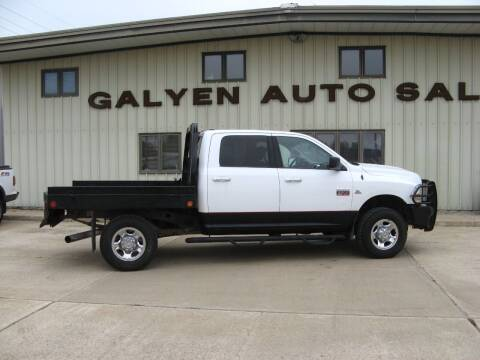 2010 Dodge Ram Pickup 2500 for sale at Galyen Auto Sales in Atkinson NE