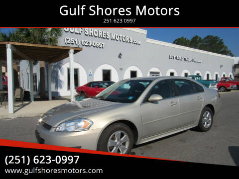 2011 Chevrolet Impala for sale at Gulf Shores Motors in Gulf Shores AL