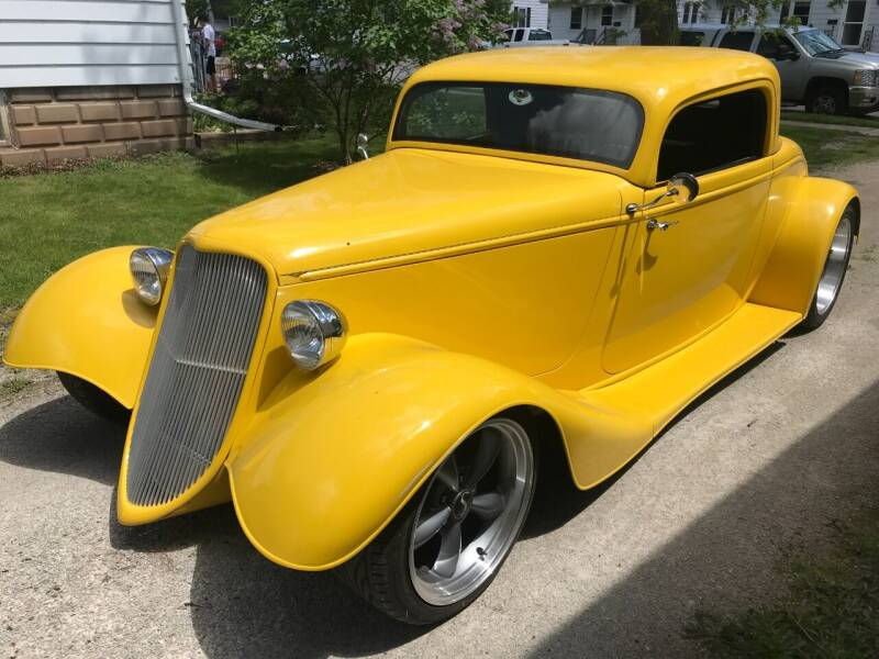 1933 Ford 3-WINDOW COUPE for sale at ADA Motorwerks in Green Bay WI