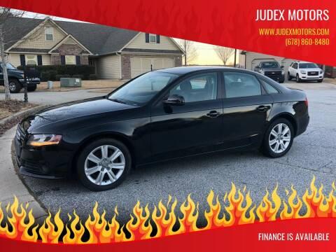 2010 Audi A4 for sale at Judex Motors in Loganville GA
