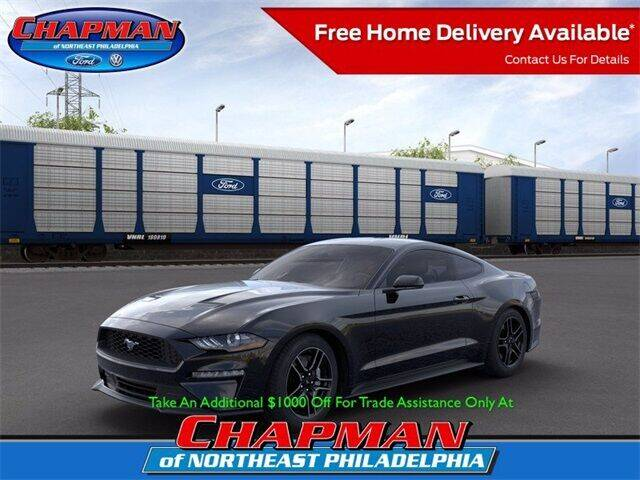 2020 Ford Mustang for sale at CHAPMAN FORD NORTHEAST PHILADELPHIA in Philadelphia PA