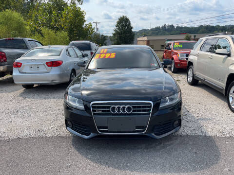 2011 Audi A4 for sale at PIONEER USED AUTOS & RV SALES in Lavalette WV