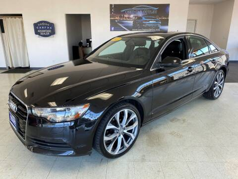 2013 Audi A6 for sale at Used Car Outlet in Bloomington IL