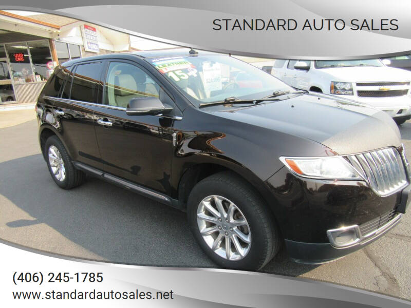2015 Lincoln MKX for sale at Standard Auto Sales in Billings MT