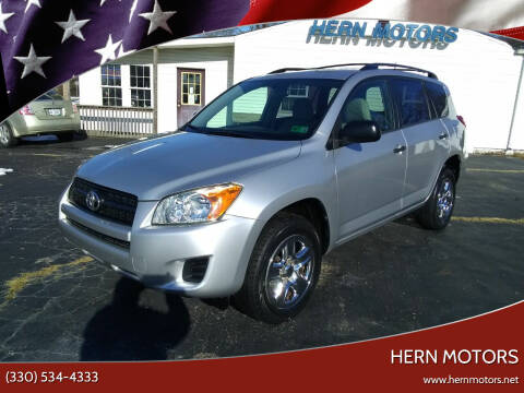 2011 Toyota RAV4 for sale at Hern Motors - 2021 BROOKFIELD RD Lot in Hubbard OH