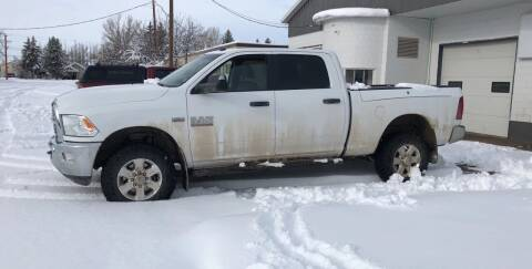 2015 RAM Ram Pickup 2500 for sale at Truck Buyers in Magrath AB