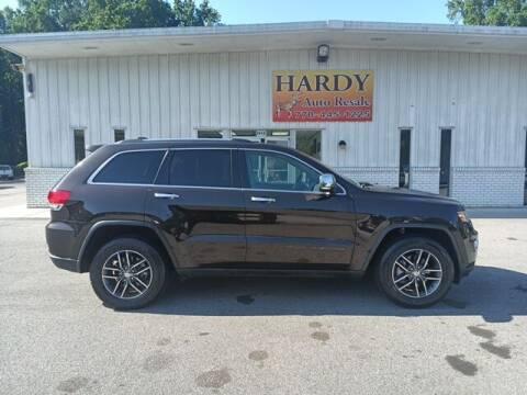 2017 Jeep Grand Cherokee for sale at Hardy Auto Resales in Dallas GA