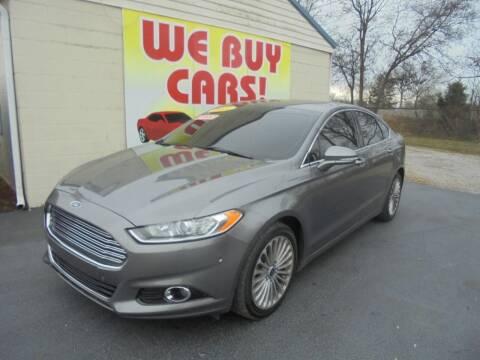 2014 Ford Fusion for sale at Right Price Auto Sales in Murfreesboro TN